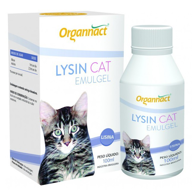 Suplemento Vitamínico Lysin Emulgel 100ml