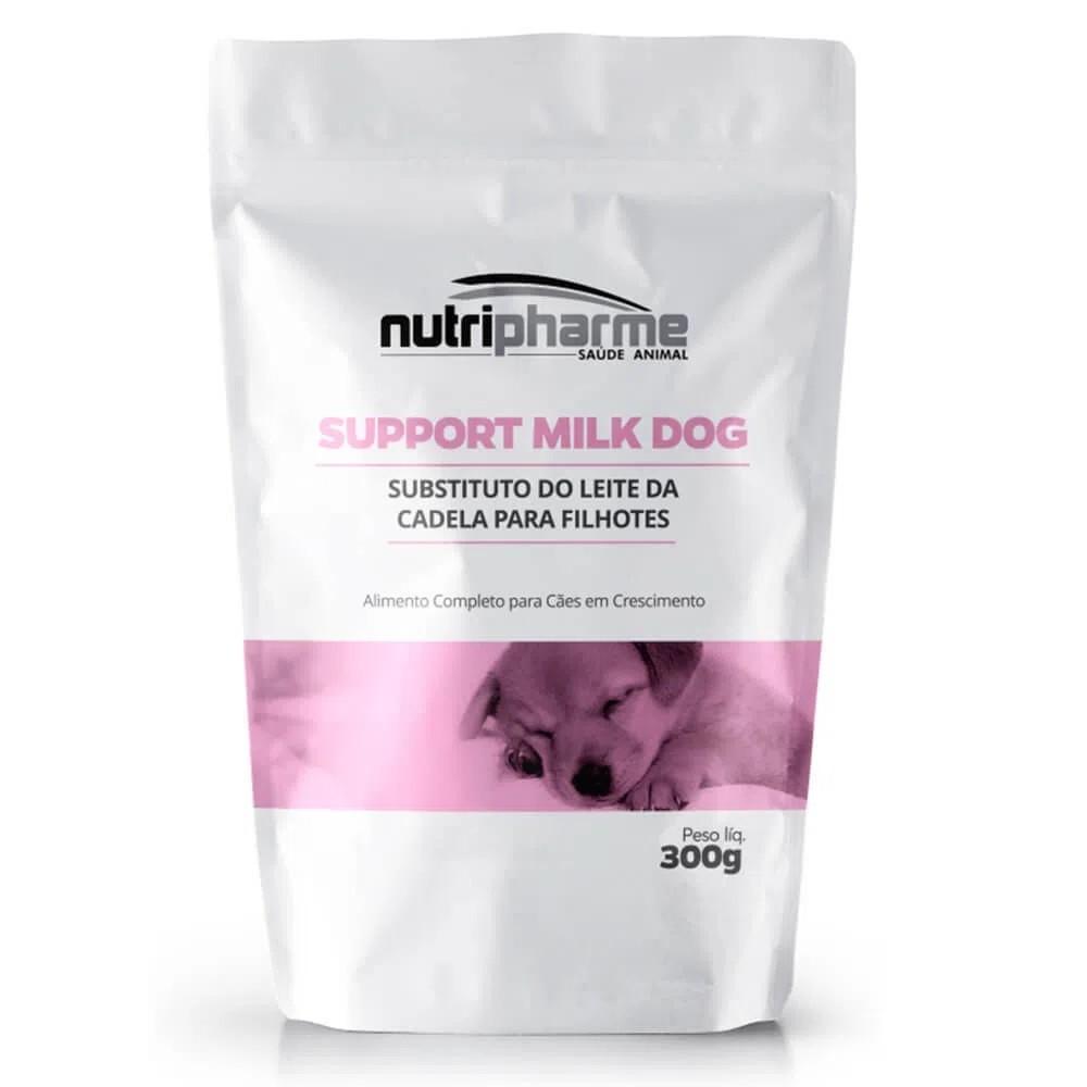 Suplemento Vitamínico Nutripharme Support Milk Dog para Cães Filhotes 300g