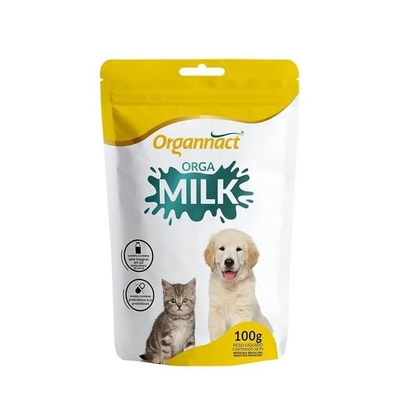 Suplemento Vitamínico Organnact Orga Milk para Cães e Gatos