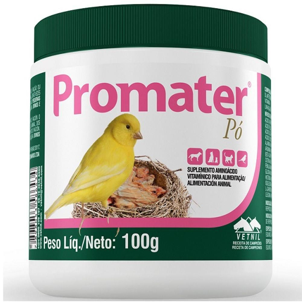 Suplemento Vitaminico Promater Pó 100g