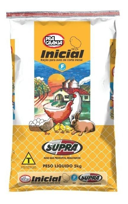 Ração Inicial Supra Agro 5kg