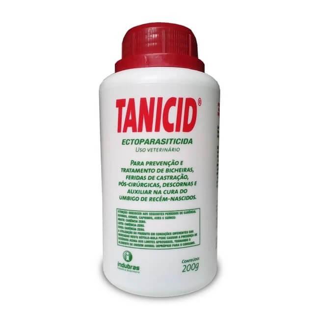Tanicid Ectoparasiticida Indubras 200g
