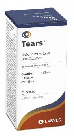 Tears colírio labyes substituto natural de lágrimas 8ml