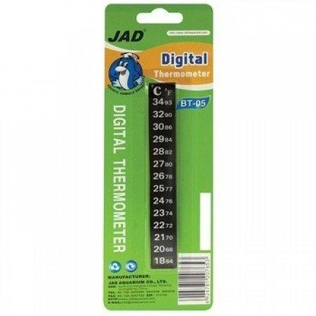 Termômetro Digital Jad Adesivo Para Aquários