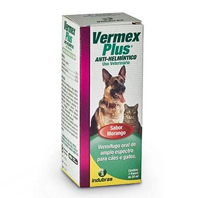 Vermex Anti-Helmíntico 20ml Sabor Morango