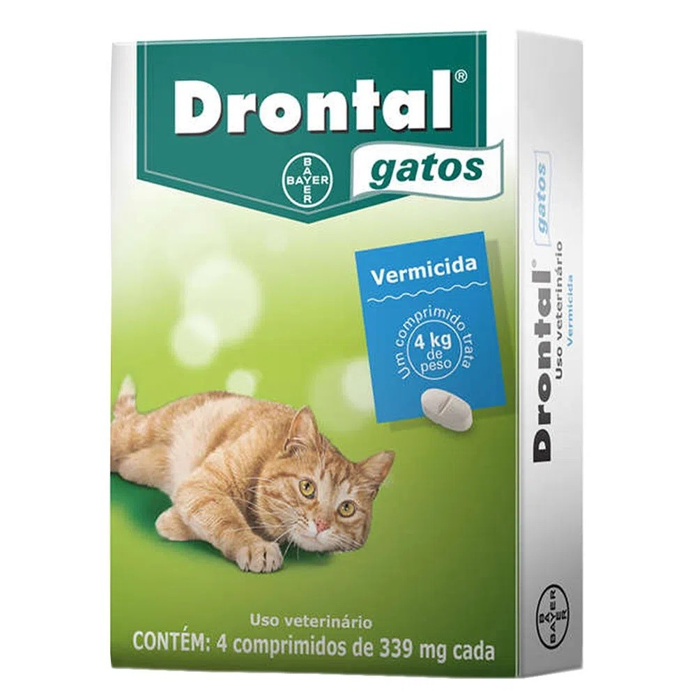 Vermífugo Drontal Gatos Blister