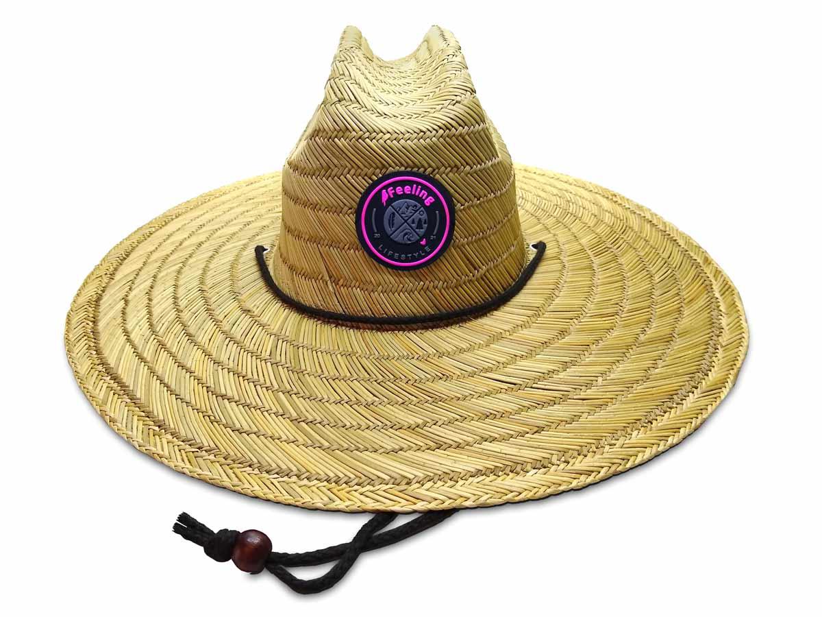 Chapéu de Palha Feminino Surf
