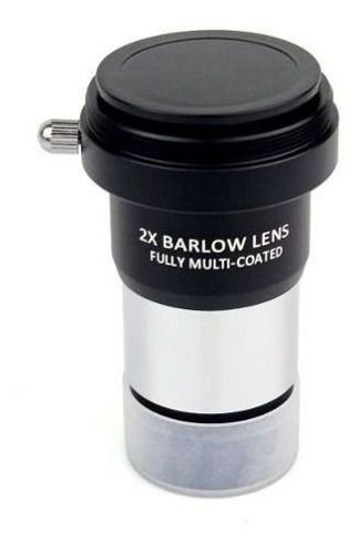 Barlow 2x - Lente Multicoated c/ rosca T2