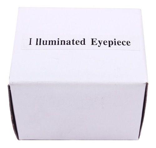Ocular Plolls Reticulo Iluminado 12mm