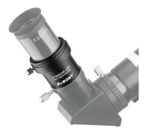 Barlow 2x - Lente Multicoated - 1.25 Adaptador T