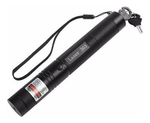 Kit Suporte Laser + Caneta Laser Mod.303 C/ Chave Segurança