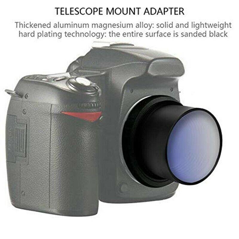 """Adaptador 2"""" para Astrofotografia Nikon"""