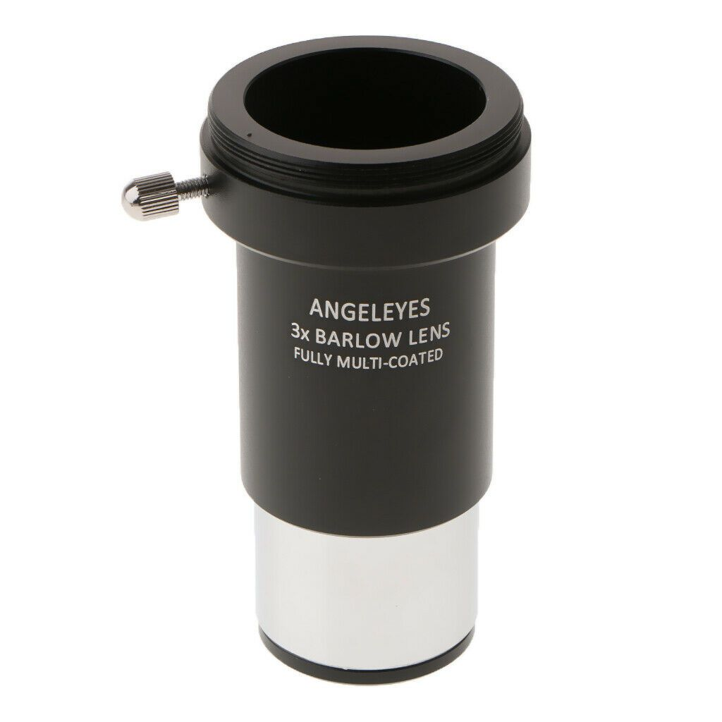 Barlow 3x Acromatica-  3 Lente Multicoated - 1.25 Com Adaptador T