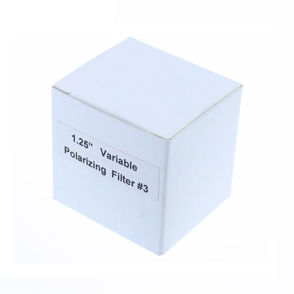 """Filtro Duplo Polarizado Variavel 1,25"""""""