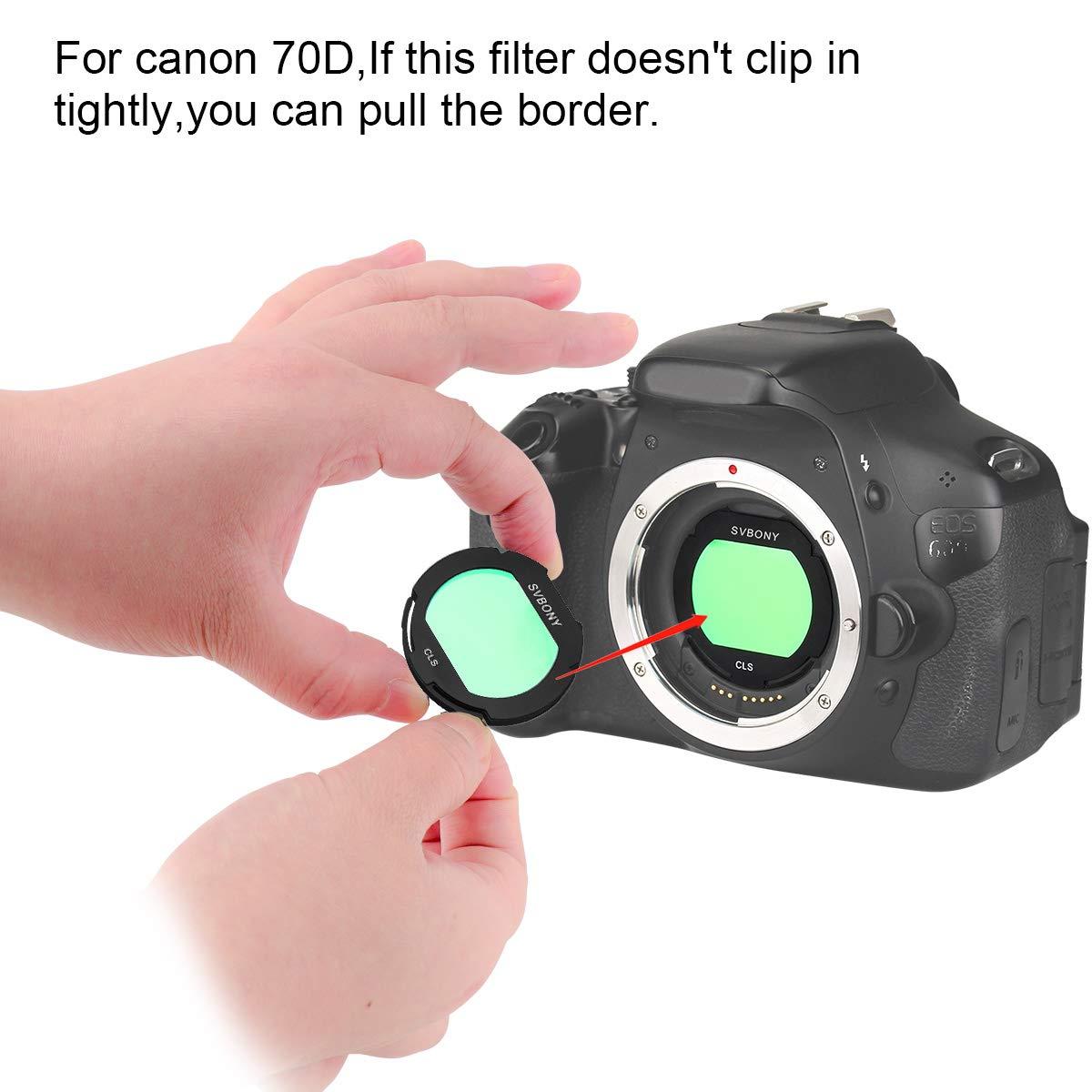 Filtro Svbony CLS Clip Canon