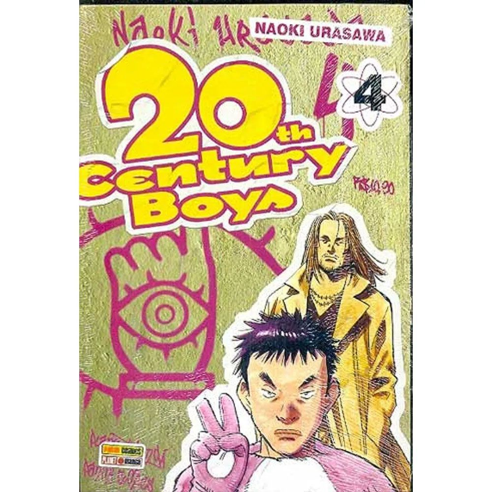 20th Century Boys - Volume 04 - Usado
