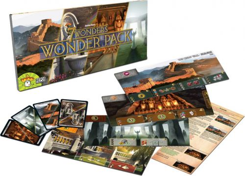7 Wonders Wonder Pack - Expansão