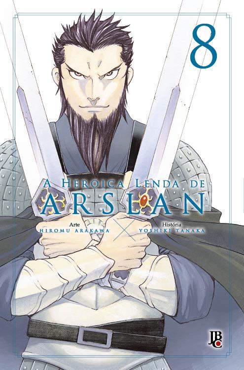 A Heroica Lenda de Arslan - Volume 08