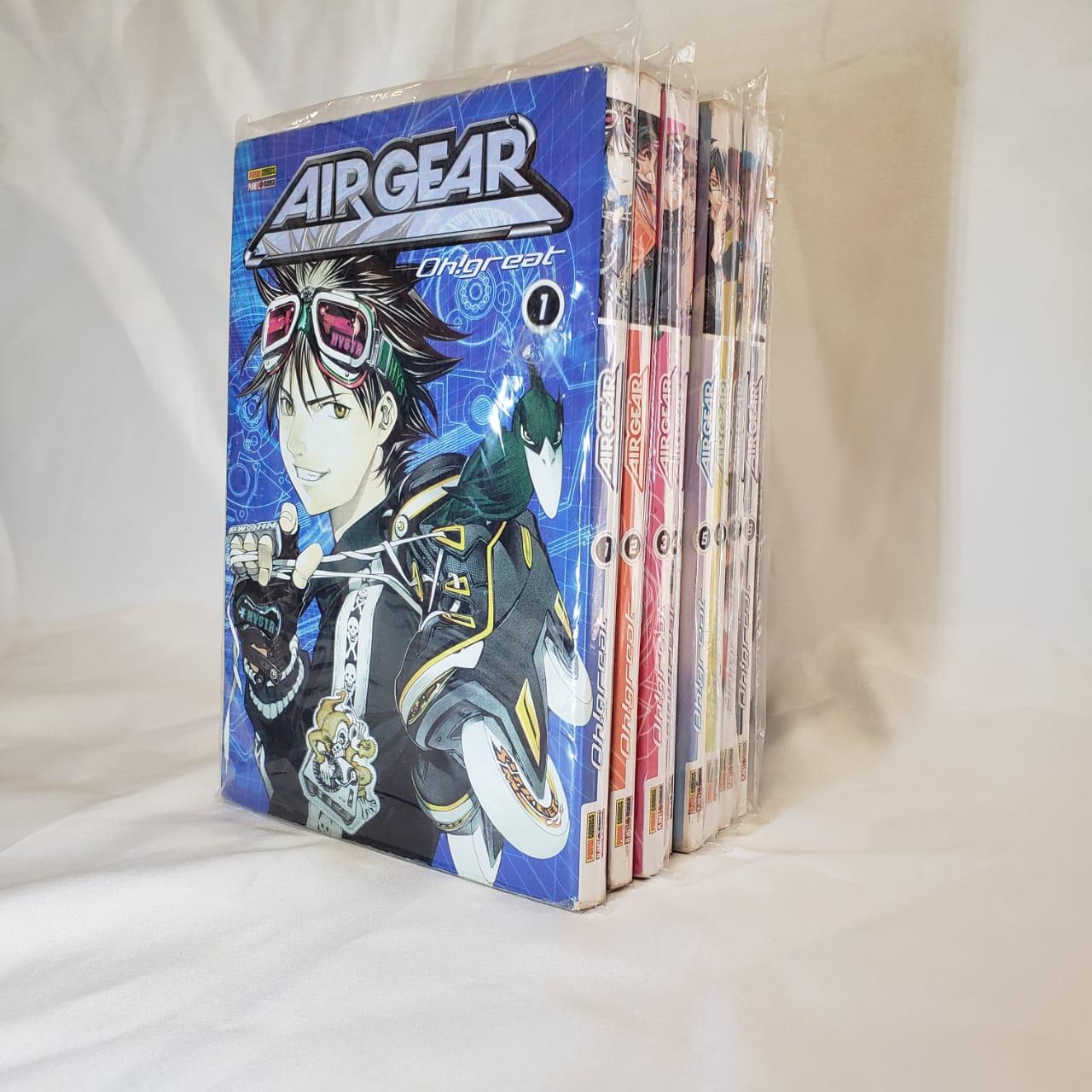 Air Gear - 1 ao 8 - Pack