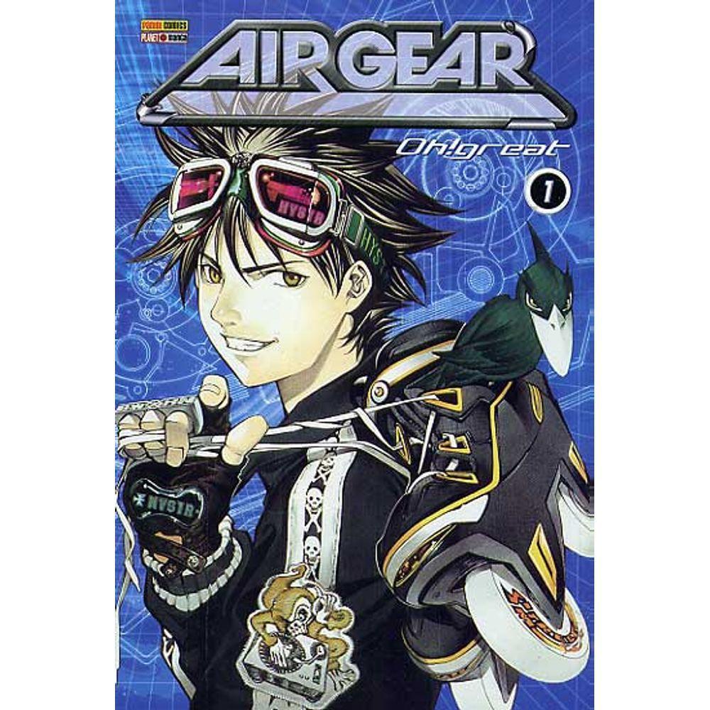 Air Gear - Volume 01 - Usado