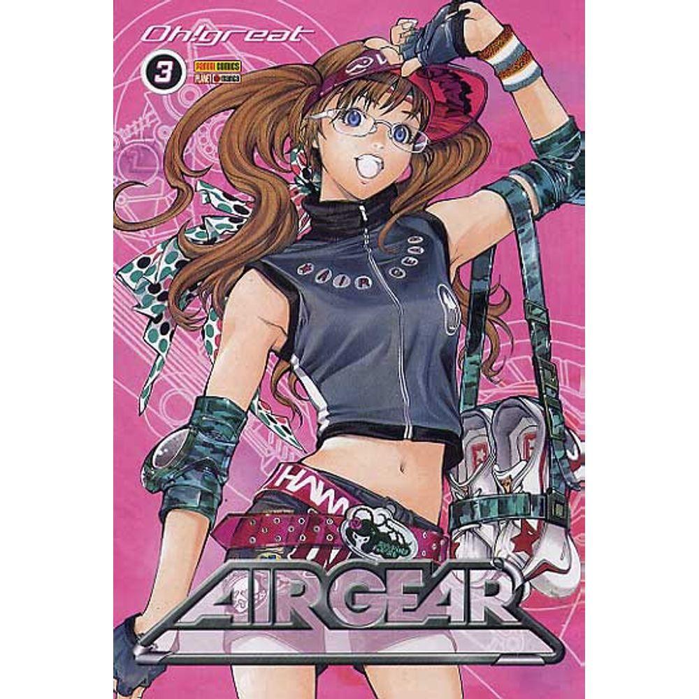 Air Gear - Volume 03 - Usado