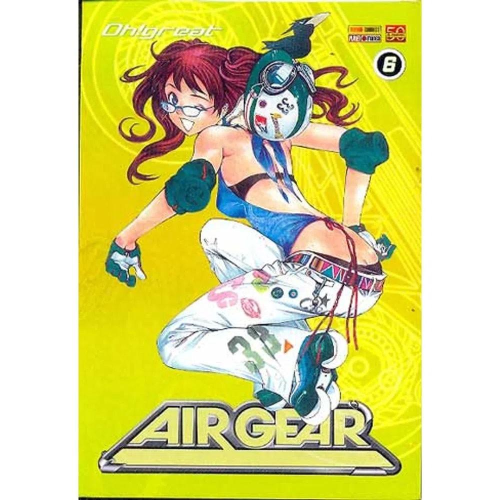 Air Gear - Volume 06 - Usado