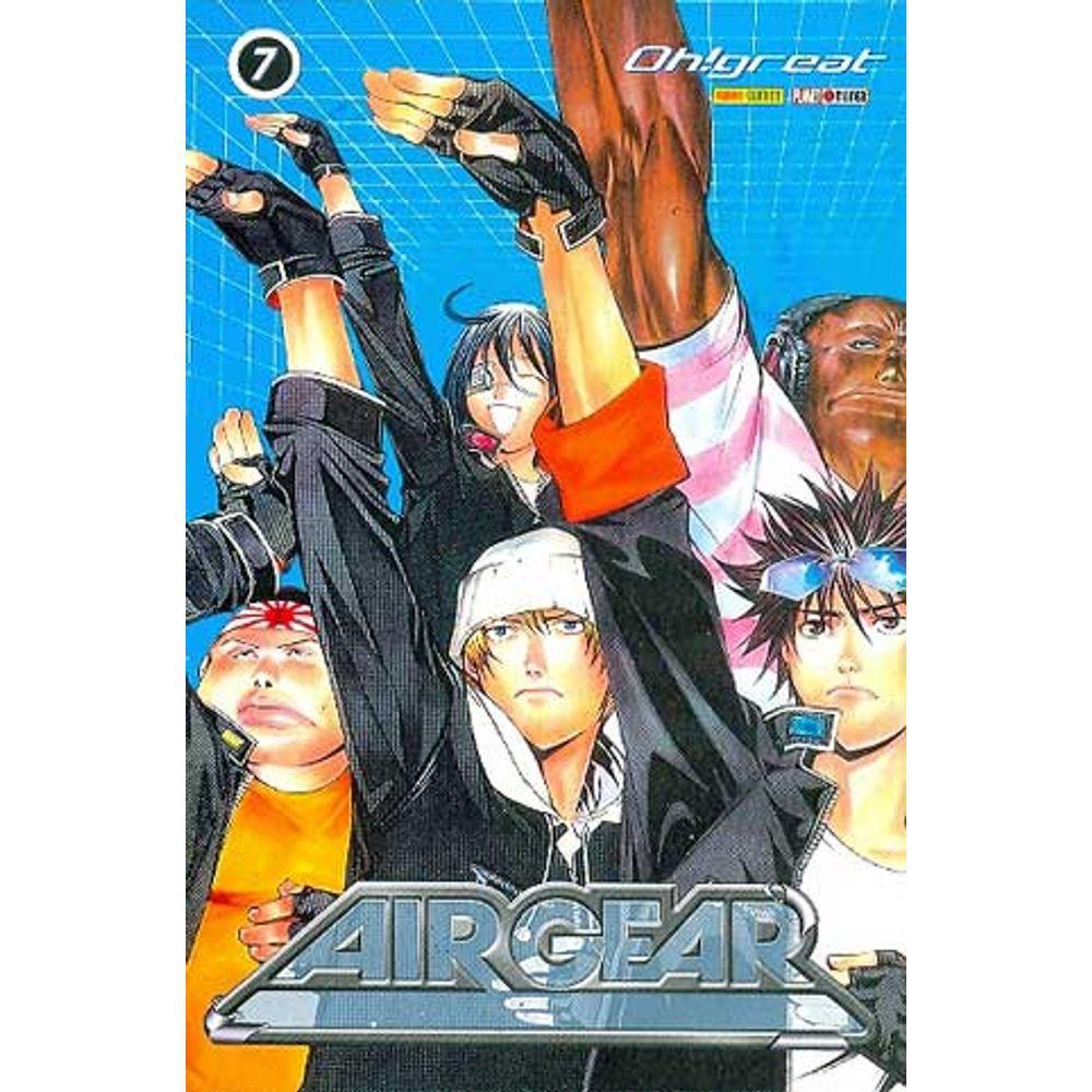 Air Gear - Volume 07 - Usado