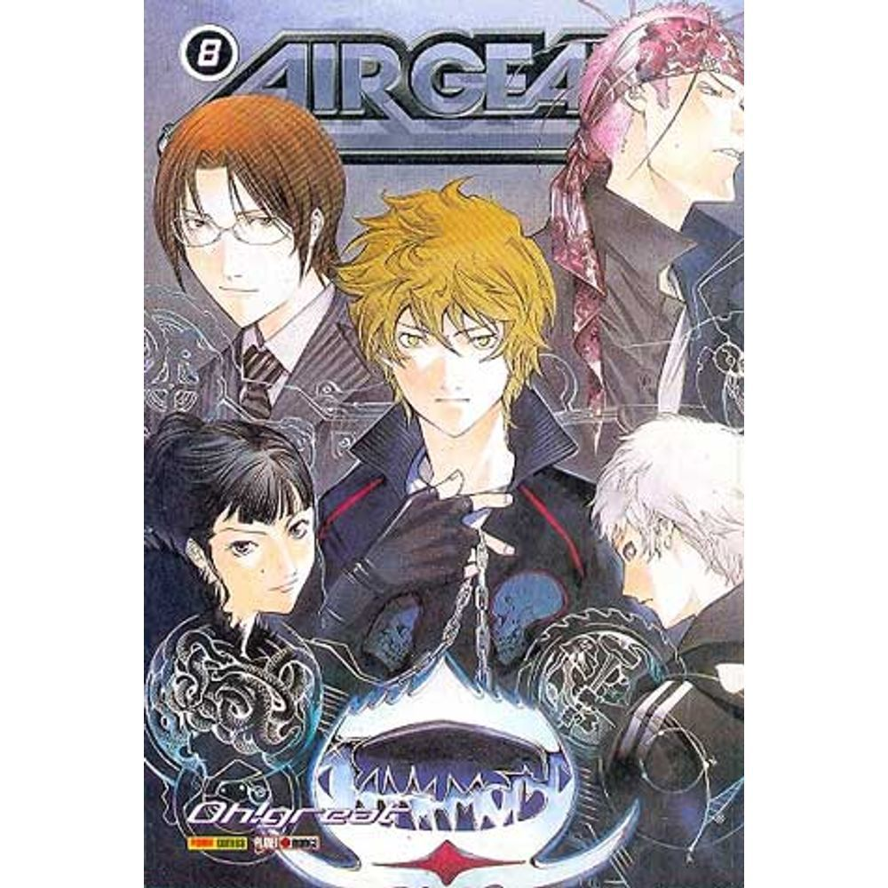 Air Gear - Volume 08 - Usado