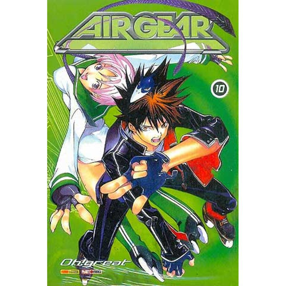 Air Gear - Volume 10 - Usado
