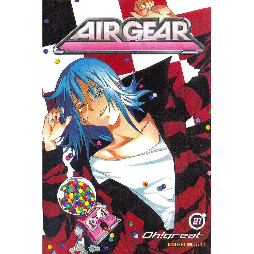 Air Gear - Volume 21 - Usado