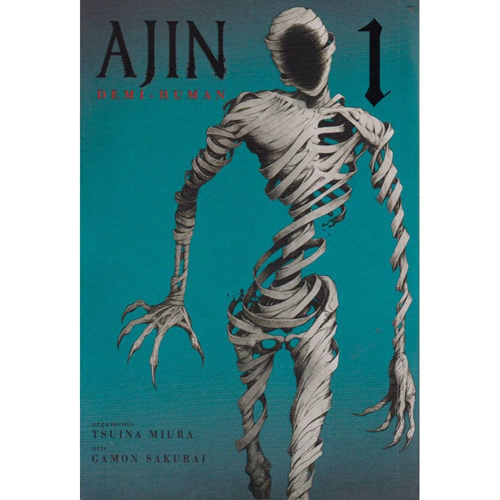 Ajin - Volume 01 - Usado