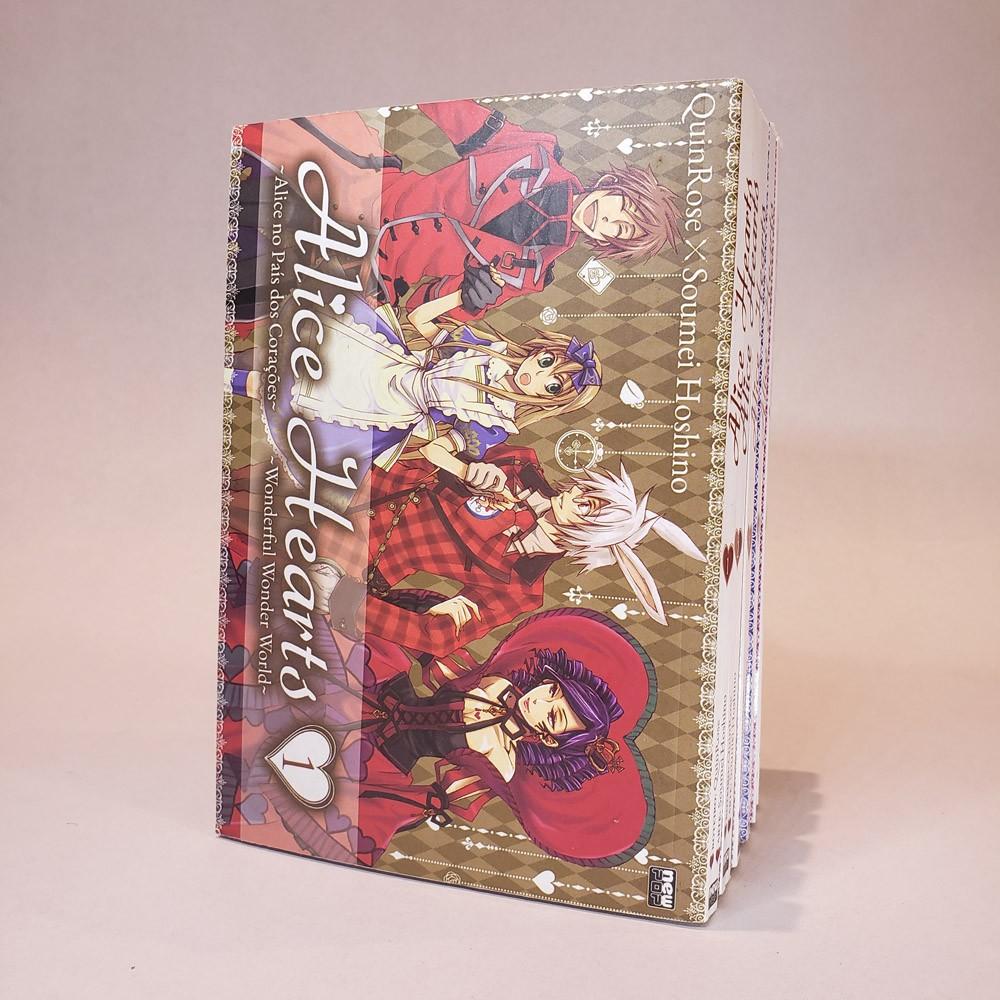 Alice Hearts - 1 ao 6 - Coleção Completa - Pack