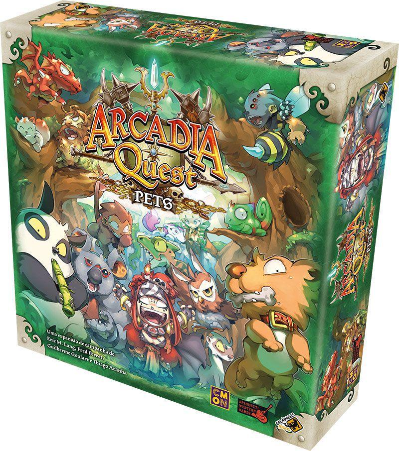 Arcadia Quest Pets - Expansão