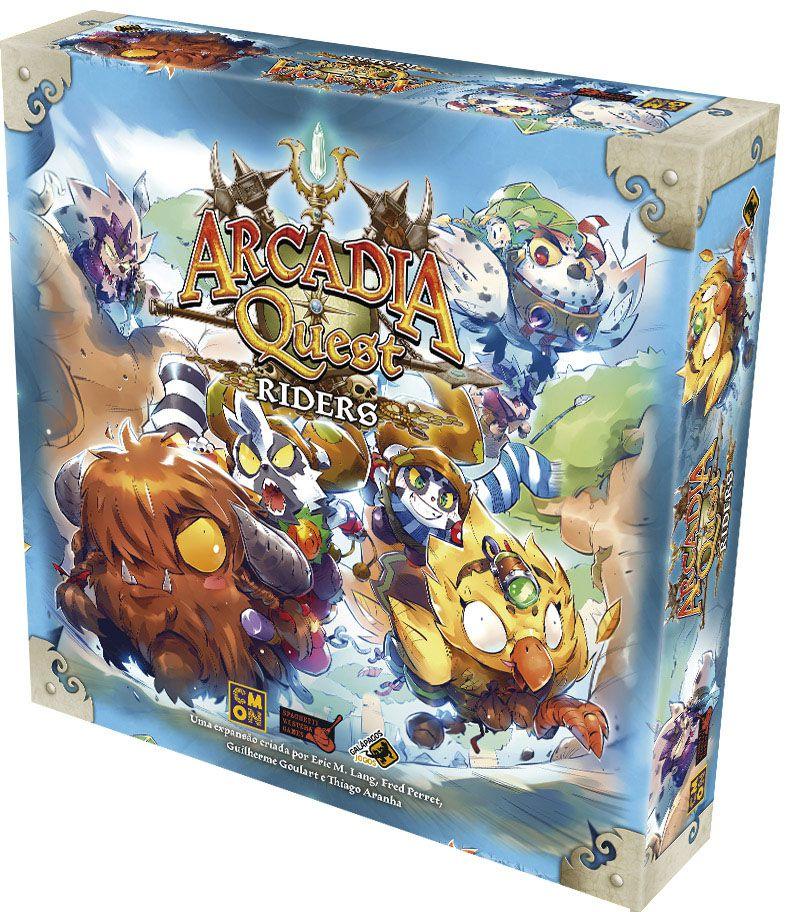 Arcadia Quest Riders - Expansão