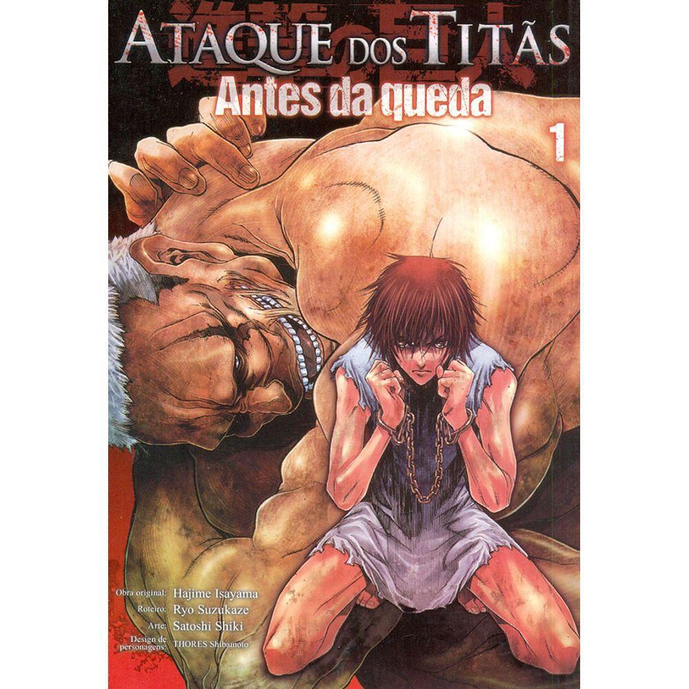Ataque dos Titãs (Shingeki no Kyojin) - Antes da Queda - Volumes Avulsos