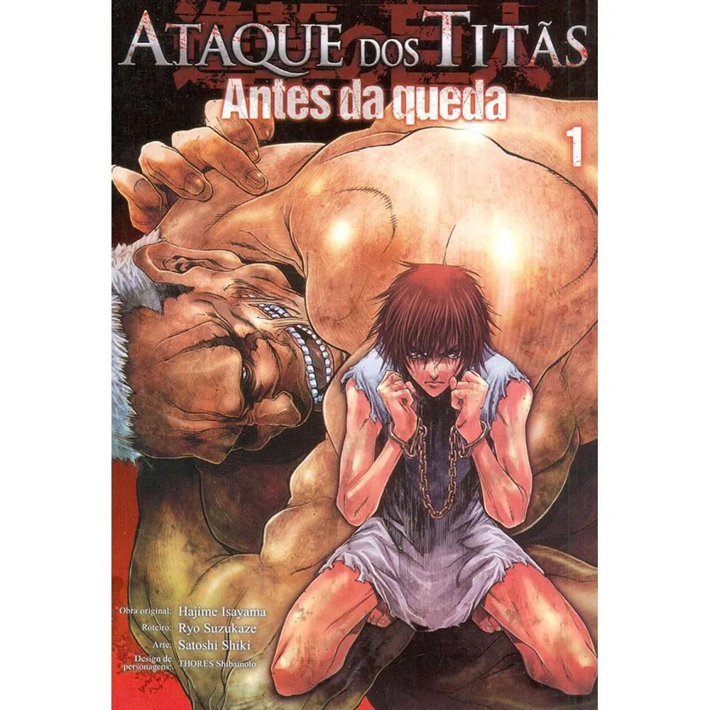 Ataque dos Titãs / Shingeki no Kyojin - Antes da Queda - Volume 01 - Usado