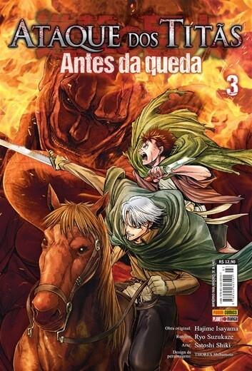 Ataque dos Titãs / Shingeki no Kyojin - Antes da Queda - Volume 03 - Usado