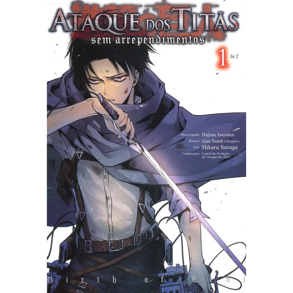 Ataque dos Titãs / Shingeki no Kyojin - Sem Arrependimentos - Volume 01 - Usado