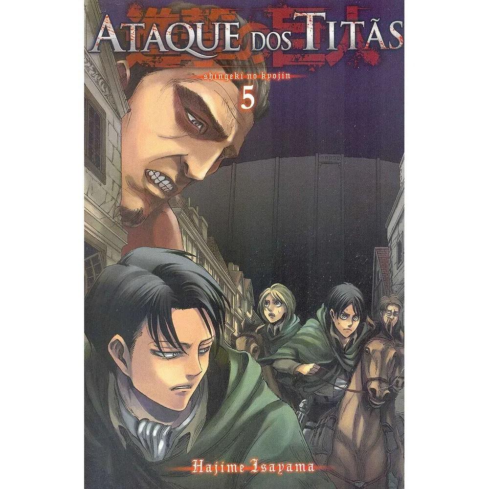 Ataque dos Titãs / Shingeki no Kyojin - Volume 05
