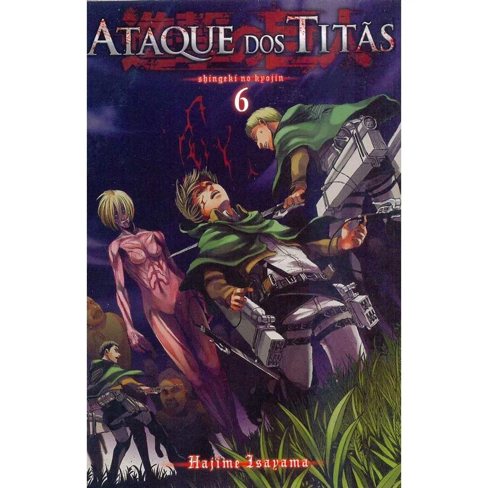 Ataque dos Titãs / Shingeki no Kyojin - Volume 06 - Usado