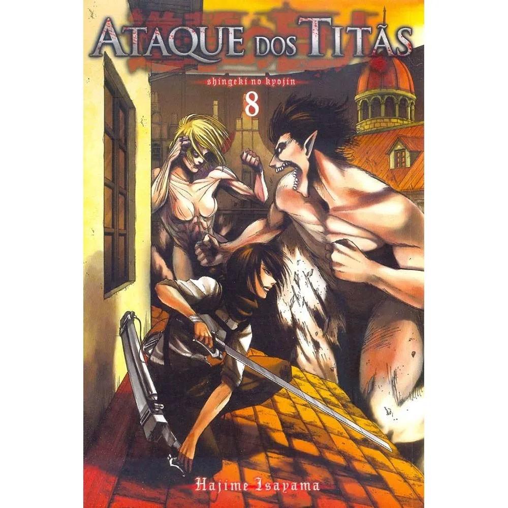 Ataque dos Titãs / Shingeki no Kyojin - Volume 08 - Usado