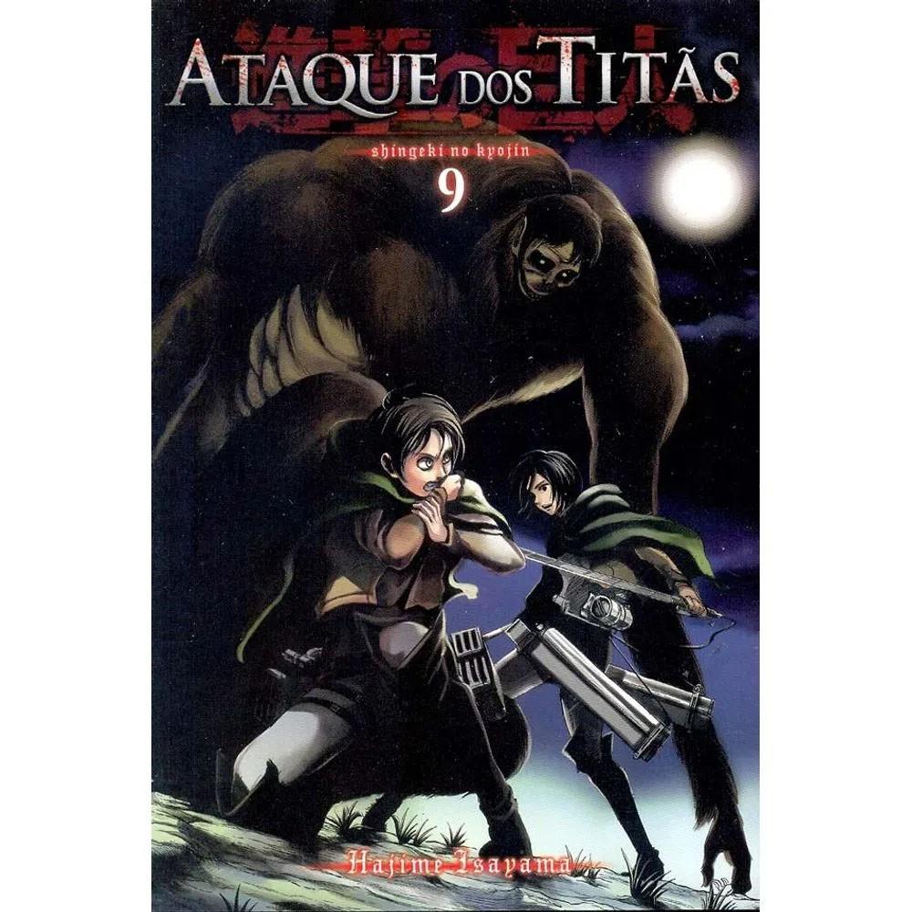 Ataque dos Titãs / Shingeki no Kyojin - Volume 09 - Usado