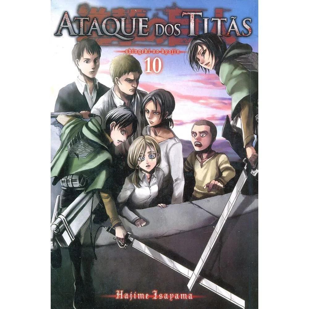 Ataque dos Titãs / Shingeki no Kyojin - Volume 10 - Usado