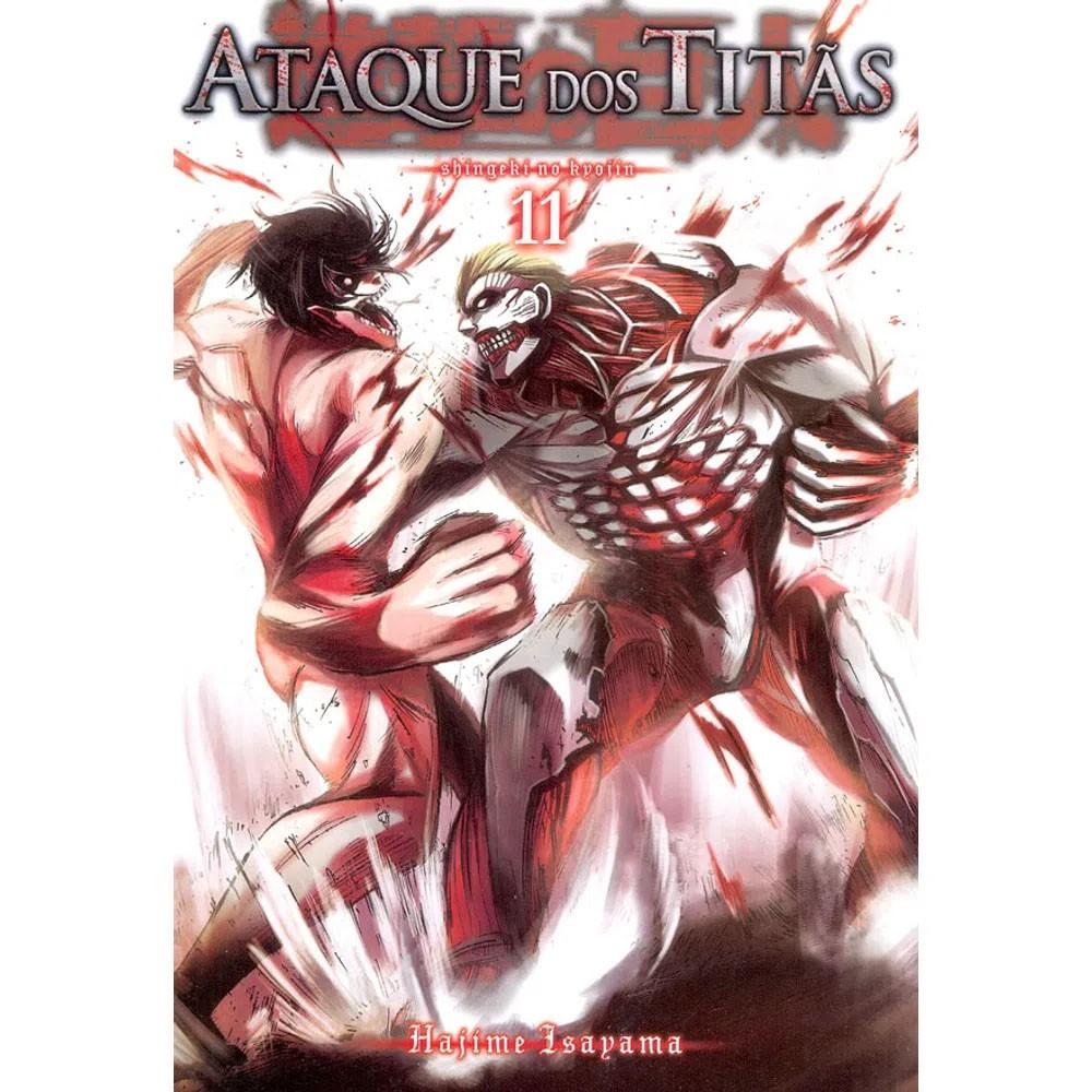 Ataque dos Titãs / Shingeki no Kyojin - Volume 11 - Usado