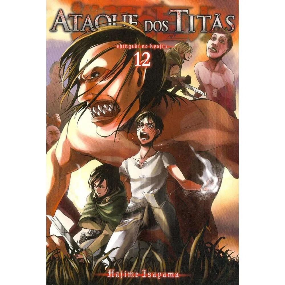 Ataque dos Titãs / Shingeki no Kyojin - Volume 12 - Usado