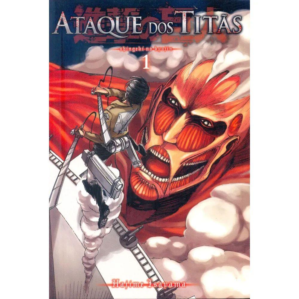 Ataque dos Titãs / Shingeki no Kyojin - Volume 01 - Usado