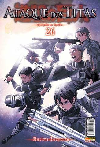 Ataque dos Titãs / Shingeki no Kyojin - Volume 26