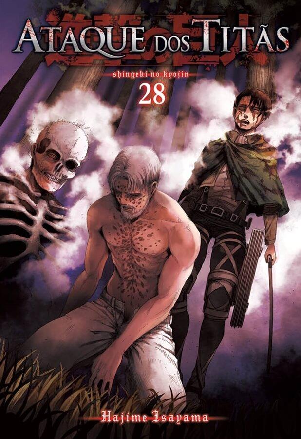 Ataque dos Titãs / Shingeki no Kyojin - Volume 28