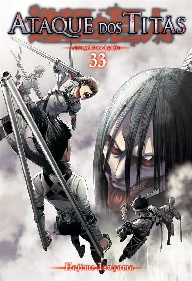 Ataque dos Titãs / Shingeki no Kyojin - Volume 33