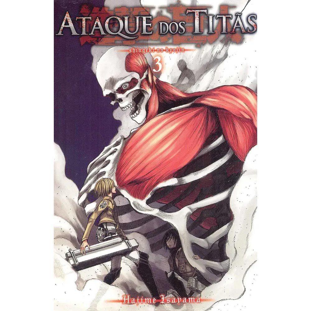 Ataque dos Titãs / Shingeki no Kyojin - Volume 03